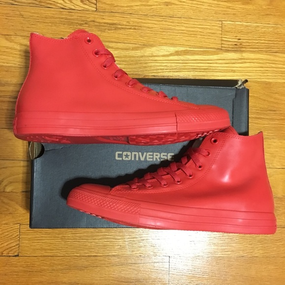Converse All Star CT High top Red Rubber RARE </p>                     </div>   <!--bof Product URL --> <!--eof Product URL --> <!--bof Quantity Discounts table --> <!--eof Quantity Discounts table --> </div>                        </dd> <dt class=